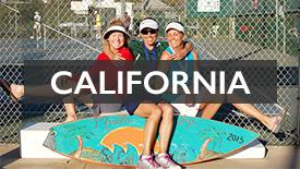 CA USA state graphics