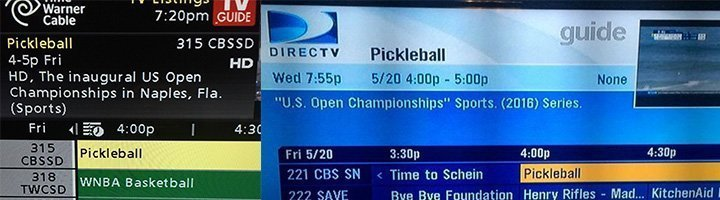 CBS Sports Network Pickleball